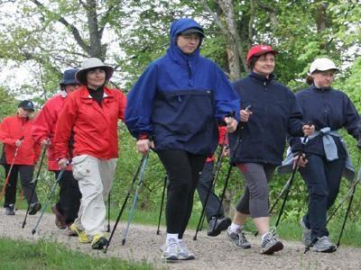 Nordic-Walking mit DSV-Trainerin in Sachrang