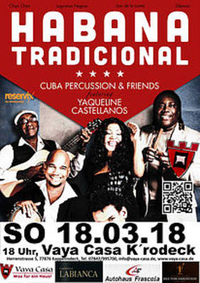 Konzert Habana Tradicional Cuba Percussion & Friends