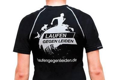 Die Lauf-Shirts des Vereins. (© Laufen gegen Leiden e.V. )