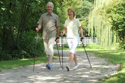 Nordic-Walking für jedermann Beginn 09.30 Uhr