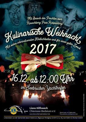 2. Kulinarische Weihnacht in Seebruck