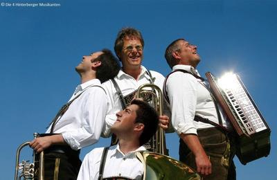 Alpenlndische Volksmusik mit den 4 Hinterberger Musikanten