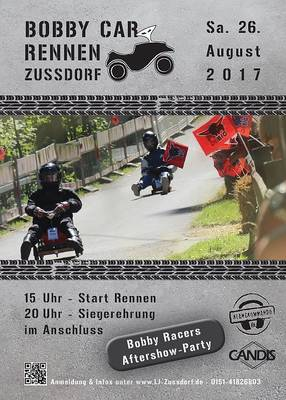 Bobbycar-Rennen mit After-Show-Party