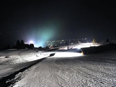 Nachtskifahren, Snowtubing by night in BreilBrigels