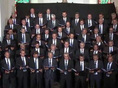 Jahreskonzert des Chor viril Lumnezia in der Val Lumnezia