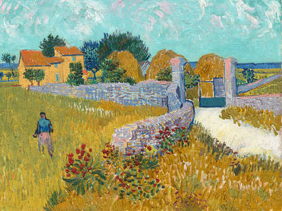 The Way to Arles, 1888National Gallery of Art,Washington,Ailsa Mell. (© MAKING VAN GOGH - A German Love Story)