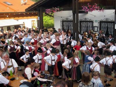 Dorffest der Ortsvereine Hittenkirchen