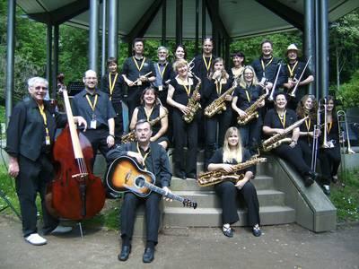 Konzert mit der Big Band des Eisenbahner Musikvereins Elm 1908 e. V.. (© Big Band des Eisenbahner Musikverein Elm 1908)