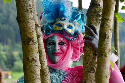 Bodypainting Festival in Titisee