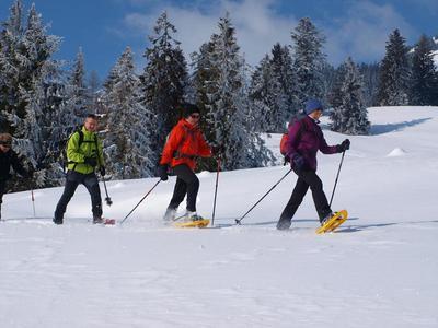 Schneeschuhtour - ein Traum in Wei!