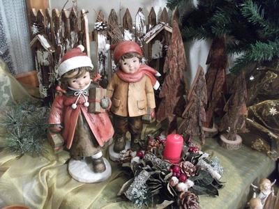 Zauberhafte Weihnachtsausstellung