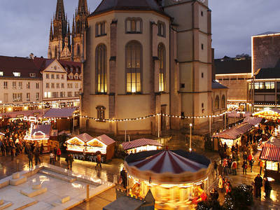 Weihnachtsmarkt Regensburg. (© RTG Regensburg)