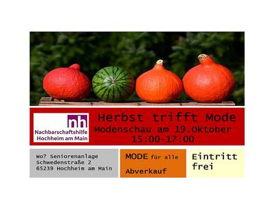 Herbst trifft Mode