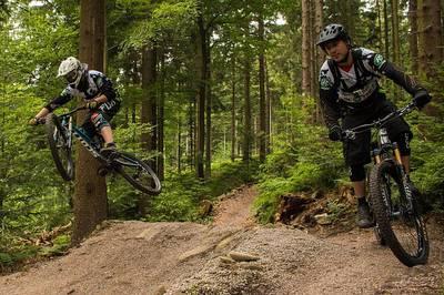 Bike-Saison-Erffnung der Schaeffler Mountainbike Arena