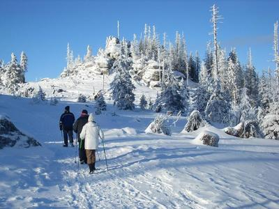 Winterwanderung Dreiländereck