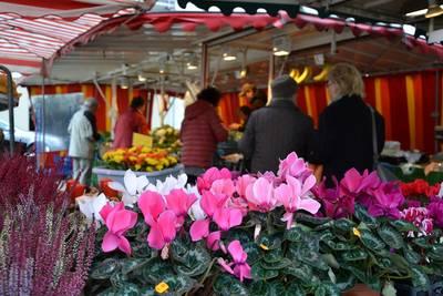 Wochenmarkt Waibstadt. (© Stadt Sinsheim )