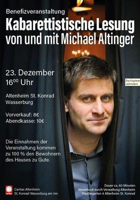 Kabarettistische Lesung von und mit Michael Altinger
