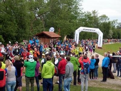 Auftaktveranstaltung zum DYNAFIT U.Trail Lamer Winkel im Seepark Arrach