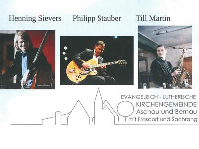 Jazzkonzert -Philipp Stauber Trio-