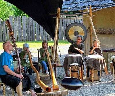 Seelenklang - mystische Musik im keltischen Hof