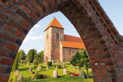 Lambertikirche in Mildstedt. (© Foto Oliver Franke)