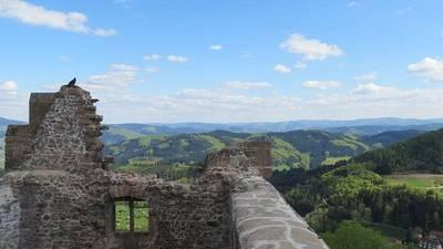 Führung auf der Burgruine Hohengeroldseck