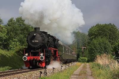 Dampflokfahrt auf der Schwarzwaldbahn