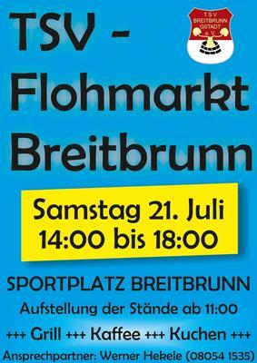 Flohmarkt des TSV Breitbrunn- Gstadt
