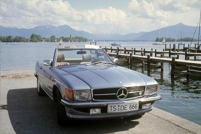 5. Regional-Treffen der Baureihe 107 Mercedes Benz