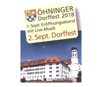 Traditionelles Dorffest in hningen