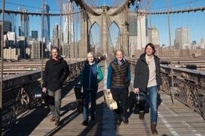 Kirchenkonzert-Machado Quartett - Episch - schelmisch - virtuos