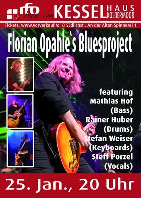 Florian Opahles Bluesproject - rfo live im Kesselhaus Kolbermoor