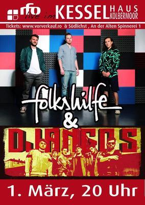folkshilfe & Django S. - rfo live im kesselhaus Kolbermoor