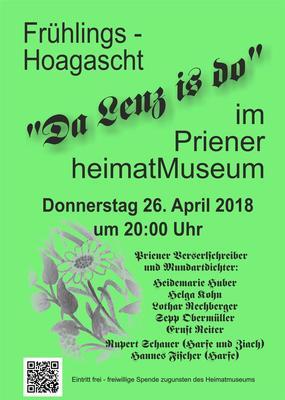 Frhlings-Hoagascht Da Lenz is do