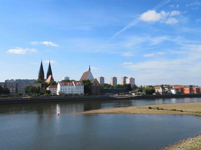 Blick von Slubice nach Frankfurt Oder, Seenland Oder-Spree e.V.