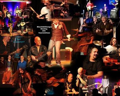 BluesClubChiemgau BluesRock-Konzert mit The Public am 19.01.2018
