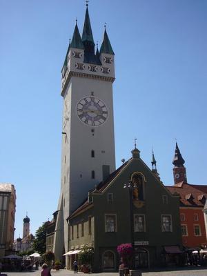 Über den Dächern von Straubing Mo 1400 Uhr