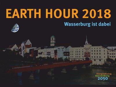 Earth Hour 2018 – Wasserburg macht mit