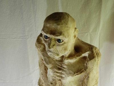 AUSSTELLUNG - Bildhauerei - MetallTreibholzarbeit - Aquarell