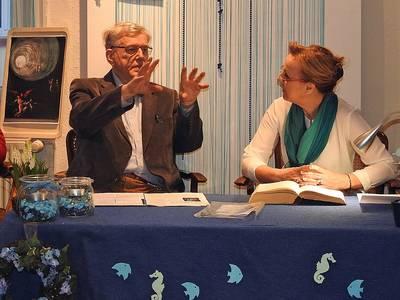 Ulrich und Reinhilde Freund. (© Elsbeth Ziegler)