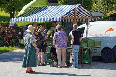 Wochenmarkt am Rathausplatz