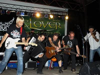 Irish Folk Party mit der Band Clover