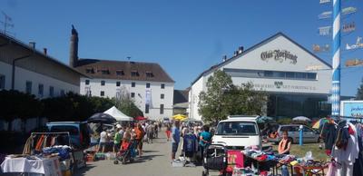Flohmarkt rund um die Brauerei