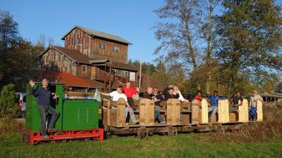 Fhrungen durch Museum und Torfbahnhof Rottau mit Feldbahnfahrt