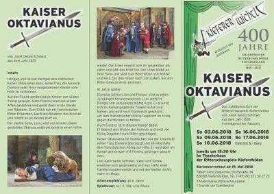 Kaiser Oktavianus - anlsslich des Jubilums 400 Jahre Volkstheater