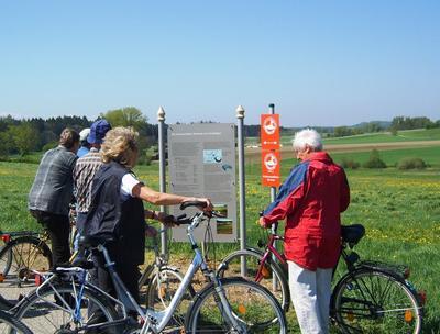Radtour auf dem Archologischen Rundweg