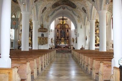 Kirchenfhrung Der offene Himmel in der Kath. Pfarrkirche Aschau