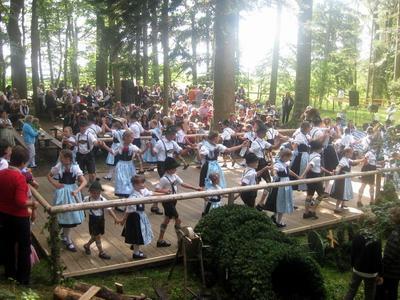 Waldfest im Buchenwald Munzing