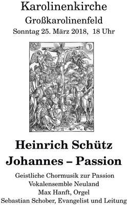 Geistliches Chorkonzert zur Passionszeit
