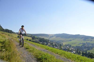 Geführte E-Bike Tour Todtnau. (© Hochschwarzwald Tourismus GmbH)